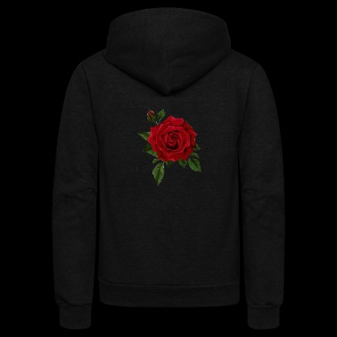 Official Red Rose Merch - Unisex Fleece Zip Hoodie