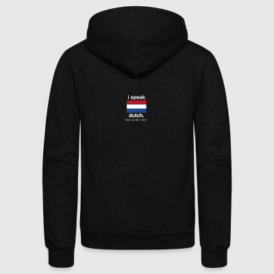 SUPERPOWER dutch - Unisex Fleece Zip Hoodie by American Apparel