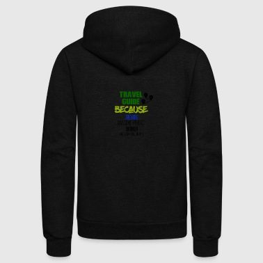 Travel Guide - Unisex Fleece Zip Hoodie
