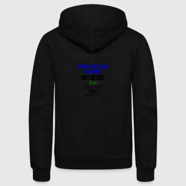 Construction Laborer - Unisex Fleece Zip Hoodie