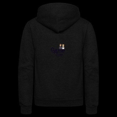 Game Over - Unisex Fleece Zip Hoodie