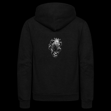 Kingdom - Unisex Fleece Zip Hoodie