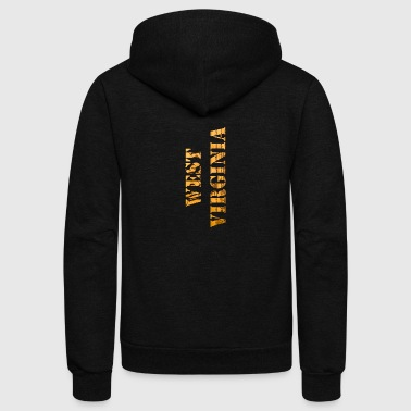 West Virginia Constitution Design - Unisex Fleece Zip Hoodie