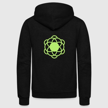 crop circles 12 - Unisex Fleece Zip Hoodie