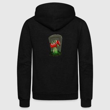 From the grave - Unisex Fleece Zip Hoodie