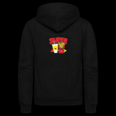 Super - Unisex Fleece Zip Hoodie