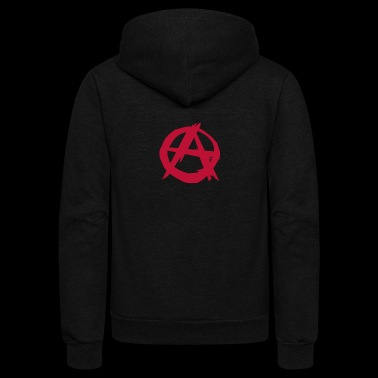 Anarchy anarchist punk - Unisex Fleece Zip Hoodie