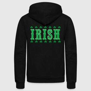 Irish - Unisex Fleece Zip Hoodie
