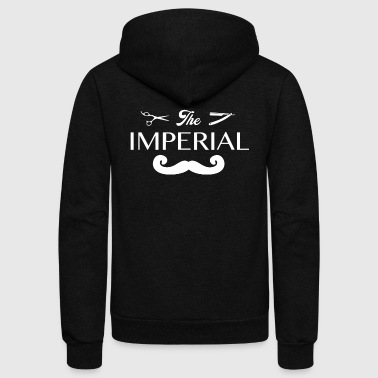 THE IMPERIAL BEARD - Unisex Fleece Zip Hoodie