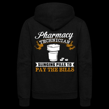 PHARMACY TECHNICIAN - Unisex Fleece Zip Hoodie
