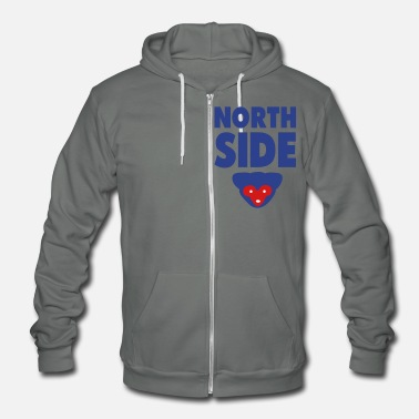 Chicago CHICAGO NORTHSIDE - Unisex Fleece Zip Hoodie