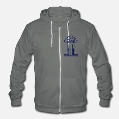 Jackets In the Cloud - Unisex Fleece Zip Hoodie