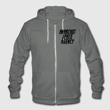 Anarchist Space Agency - Unisex Fleece Zip Hoodie