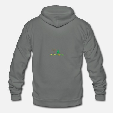Plant Grounds PLANT IT - Unisex Fleece Zip Hoodie