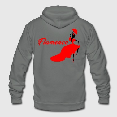 Flamenco Flamenco - Unisex Fleece Zip Hoodie