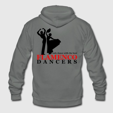 Flamenco Flamenco Dancers - Unisex Fleece Zip Hoodie