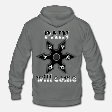Matrix Pain will come - Unisex Fleece Zip Hoodie