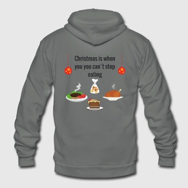 Christmas meal - Unisex Fleece Zip Hoodie