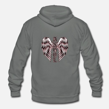Angel's Wings Angel Wings - Unisex Fleece Zip Hoodie