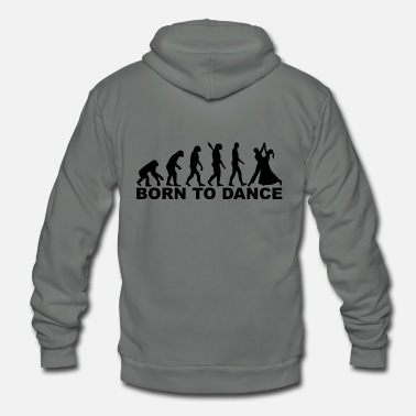 Born In born to - Unisex Fleece Zip Hoodie
