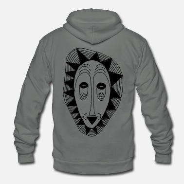 Mask The mask - Unisex Fleece Zip Hoodie