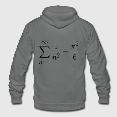 Basel Problem gift present idea - Unisex Fleece Zip Hoodie