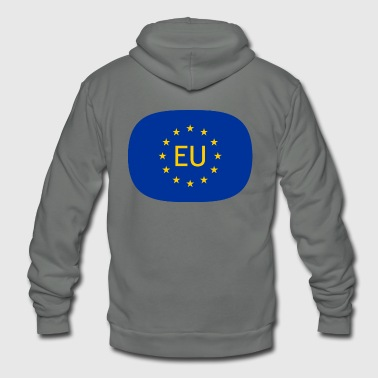 VJocys European Union EU - Unisex Fleece Zip Hoodie