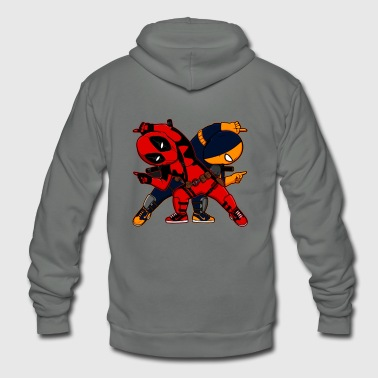 deadpool - Unisex Fleece Zip Hoodie