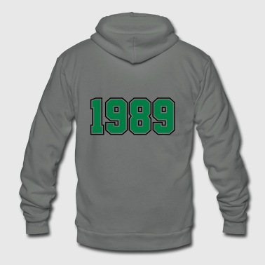 1989 | Year of Birth | Birth Year | Birthday - Unisex Fleece Zip Hoodie