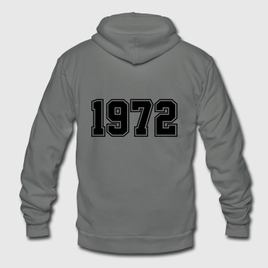 1972 | Year of Birth | Birth Year | Birthday - Unisex Fleece Zip Hoodie