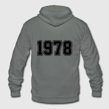 1978 | Year of Birth | Birth Year | Birthday - Unisex Fleece Zip Hoodie
