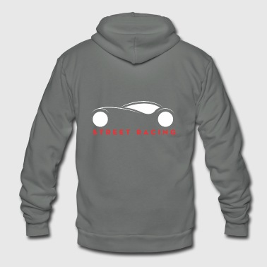 Street Racing - Unisex Fleece Zip Hoodie