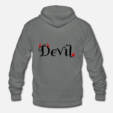 Devil Male devil - Unisex Fleece Zip Hoodie