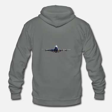 Commercial airline - Unisex Fleece Zip Hoodie
