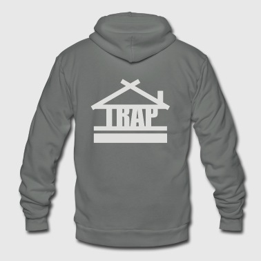 Trap Trap house - Unisex Fleece Zip Hoodie