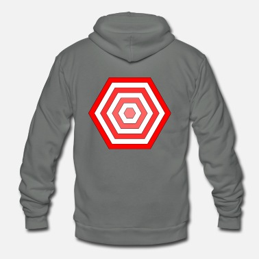 Hexagon hexagon - Unisex Fleece Zip Hoodie