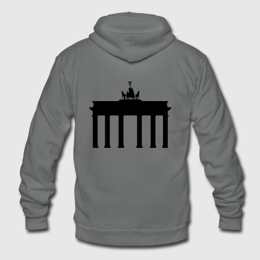 Brandenburg Gate - Unisex Fleece Zip Hoodie