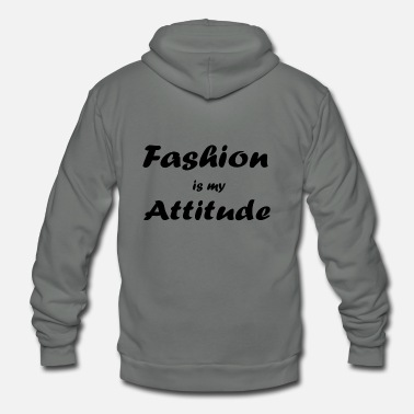 Fashion fashion - Unisex Fleece Zip Hoodie