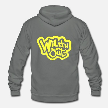 Out wild and out - Unisex Fleece Zip Hoodie