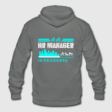 The Best Hr Manager In Progress - Unisex Fleece Zip Hoodie