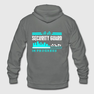 The Best Security Guard In Progress - Unisex Fleece Zip Hoodie