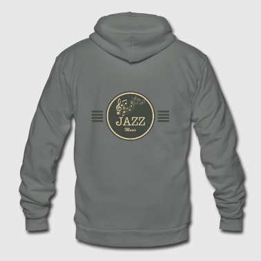 Jazz Music - Unisex Fleece Zip Hoodie