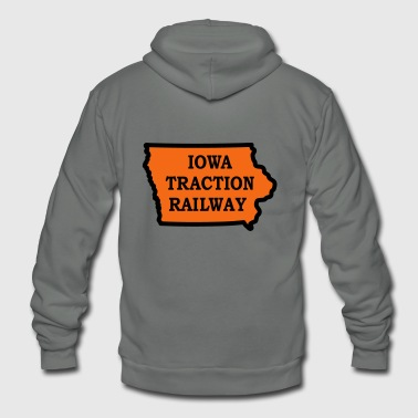 Iowa Traction Railway - Unisex Fleece Zip Hoodie