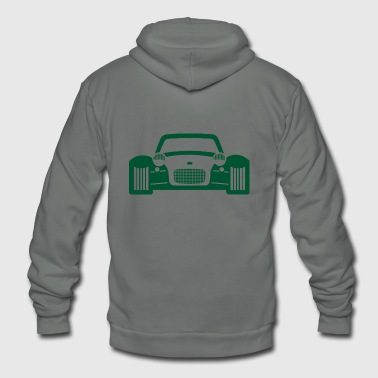auto mobile - Unisex Fleece Zip Hoodie