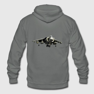 fighter jet - Unisex Fleece Zip Hoodie