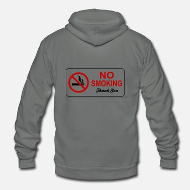 Smoking no smoking - Unisex Fleece Zip Hoodie