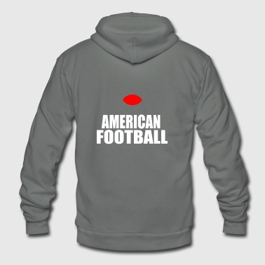 AMERICAN FOOTBALL - Unisex Fleece Zip Hoodie