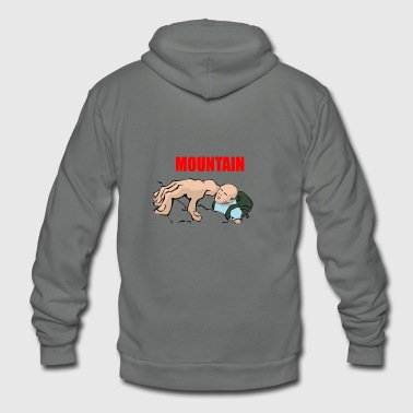 mountain climbing - Unisex Fleece Zip Hoodie
