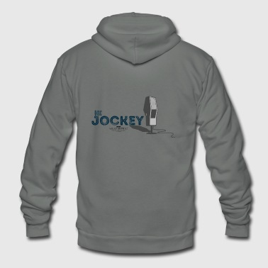 Disc Jockey - Unisex Fleece Zip Hoodie