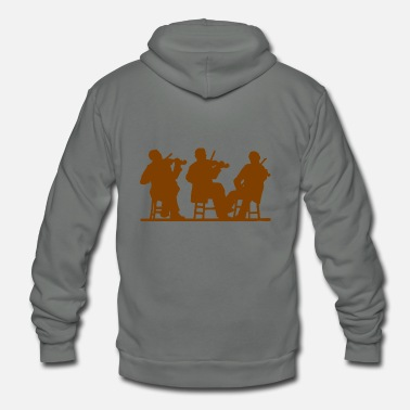 Concert music concert - Unisex Fleece Zip Hoodie